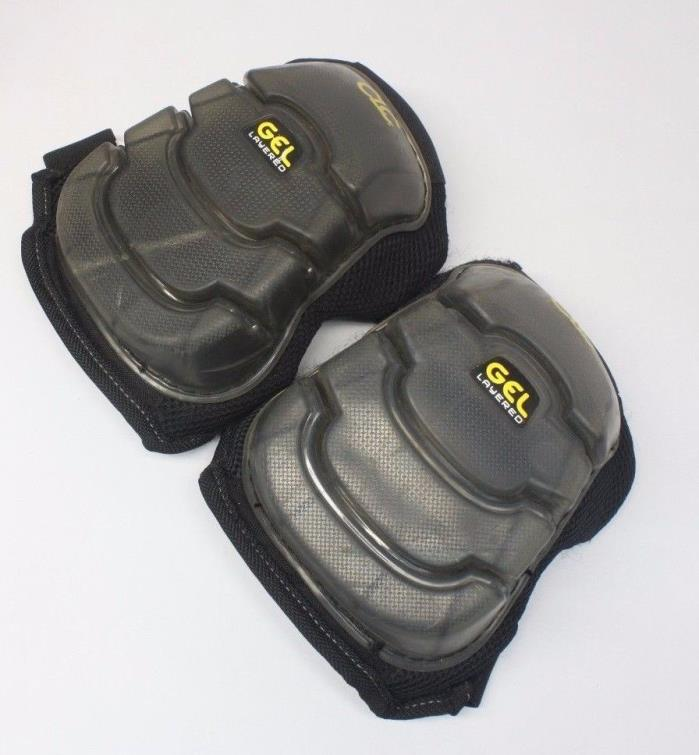 CLC One Size Gel Layered Labor Work Support Knee Pads
