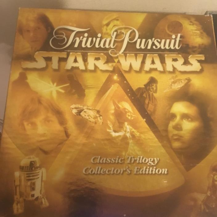 Star Wars Trivial Pursuit Board Game Classic Trilogy Collectors Edition