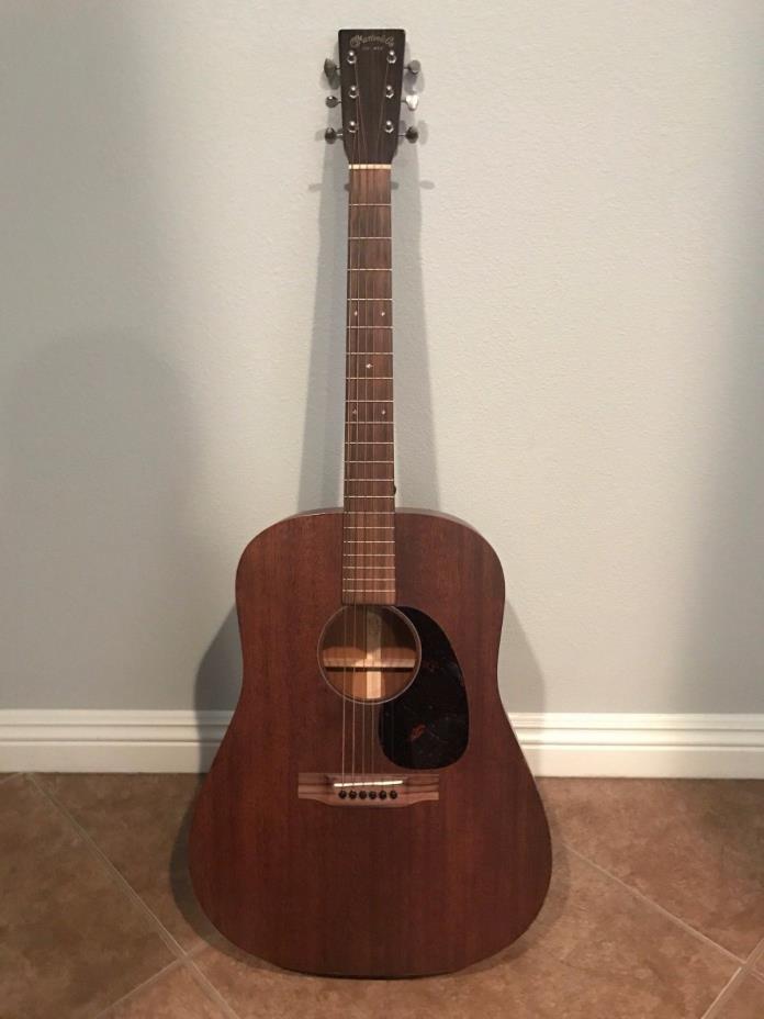 Martin D-15 Mahogany Acoustic Guitar & Case