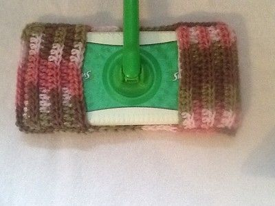 Reusable, washable, dry/wet mop Swiffer pad...NEW Pink Camo..