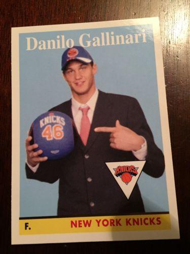 Danilo Gallinari 2008-09 Topps 58-59 Variation Parallel New York Knicks