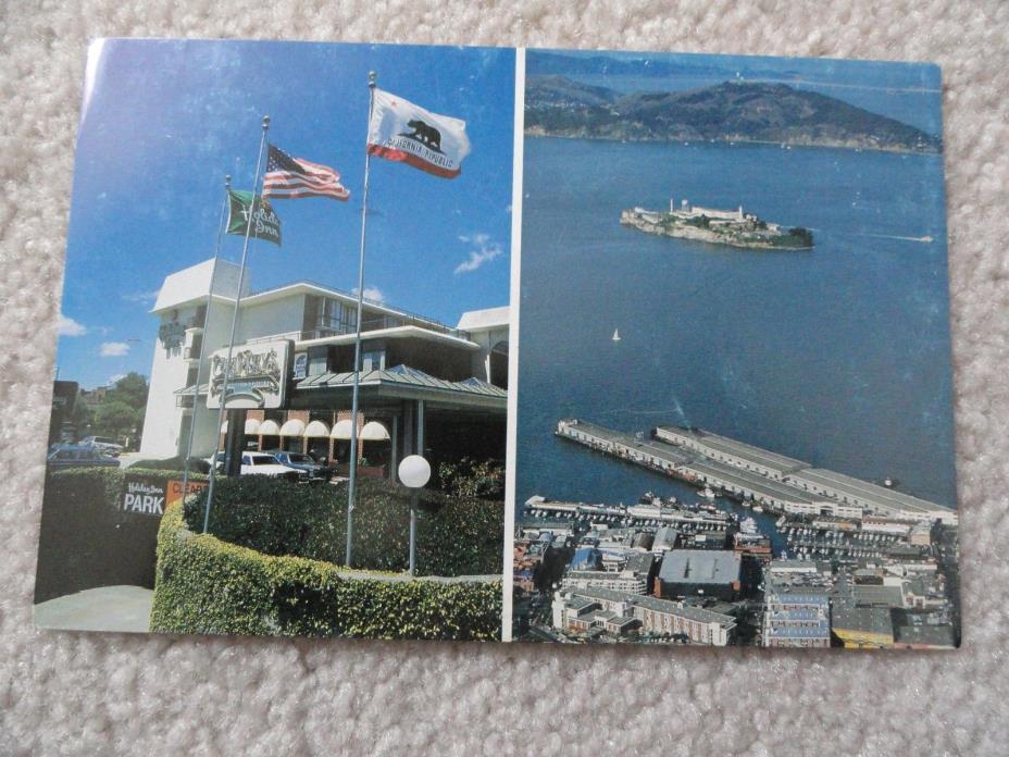 Fisherman's Wharf in the heart of San Francisco     Postcard