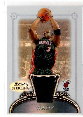 Dwyane Wade   Bowman Sterling Refractor Jersey  card card #20     #182/199