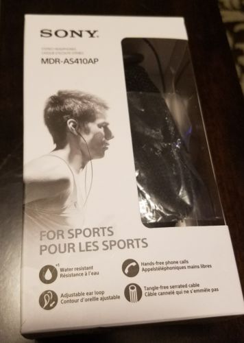 SONY MDR - AS410AP STEREO IN-EAR HEADPHONES