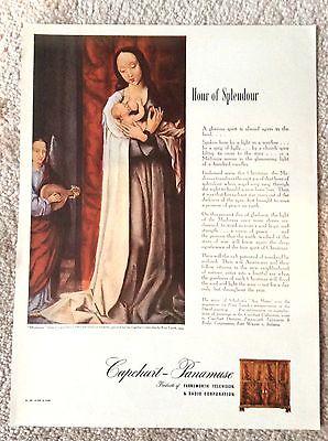 Capehart Panamuse Television Radio Magazine Ad - Hour Of Splendour Christmas Ad