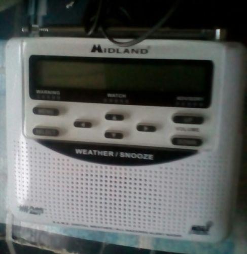 Midland weather radio wr-120