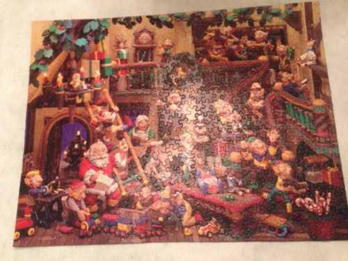 Springbok ~ SANTA'S WORKSHOP ~ Family Puzzle 500 Pieces