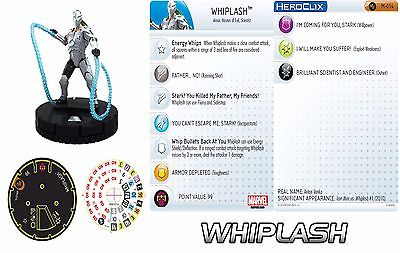 Marvel HeroClix Whiplash #M-014 **Convention Exclusive** LIMITED EDITION!