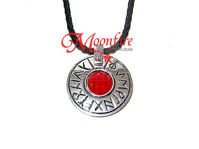THE SEVENTH SON UMBRAN STONE AMULET PENDANT NECKLACE WITCH TOM WARD