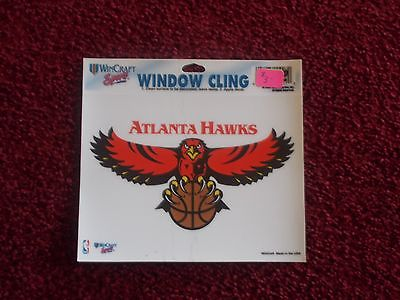 ATLANTA HAWKS COLOR WINDOW CLING