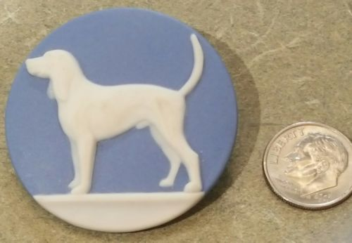 Artist Studio Pointer Dog Button '98 Stella Rzanski 1 11/16