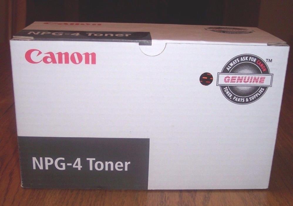 Canon Genuine OEM Toner NPG-4 New NP4050/4080 #1375A004-AA