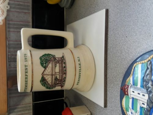 Pennsville NJ Septembetfest mugs 1979 thru 2002