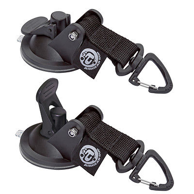 AIRHEAD Watersports AHSUP-A010 SUP Suction Cup Tie Downs - 2-Pack