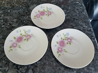 3 SMALL MADE IN CHINA PLATES ORIGINAL CHINA