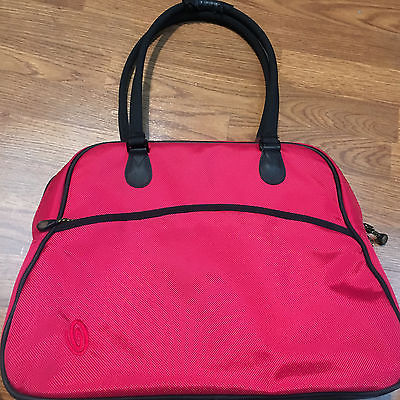 timbuk2 nylon laptop tote bag, red