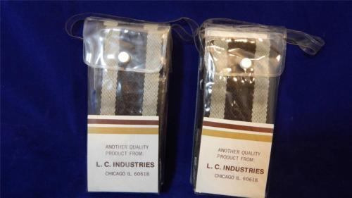 NEW TWO 6 Ft Adjustable Cotton Webbing Straps w/Hardware & ID FREE SHIPPING