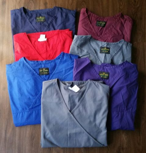 Womens Lizzy B Canada/ SB Srubs Size XL Nursing Uniforms Lot of 7 Top + Bottoms