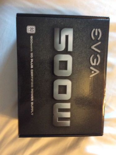 EVGA 500w 80 Plus Certified Power Supply