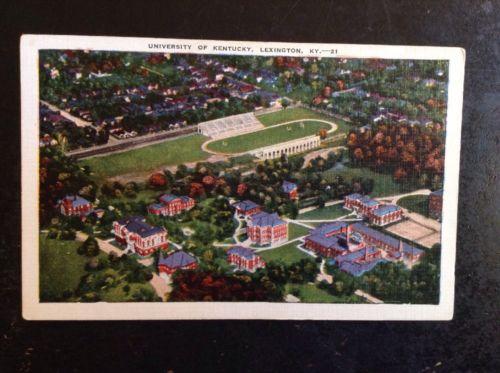 University Of Kentucky Lexington Postcard 1920s