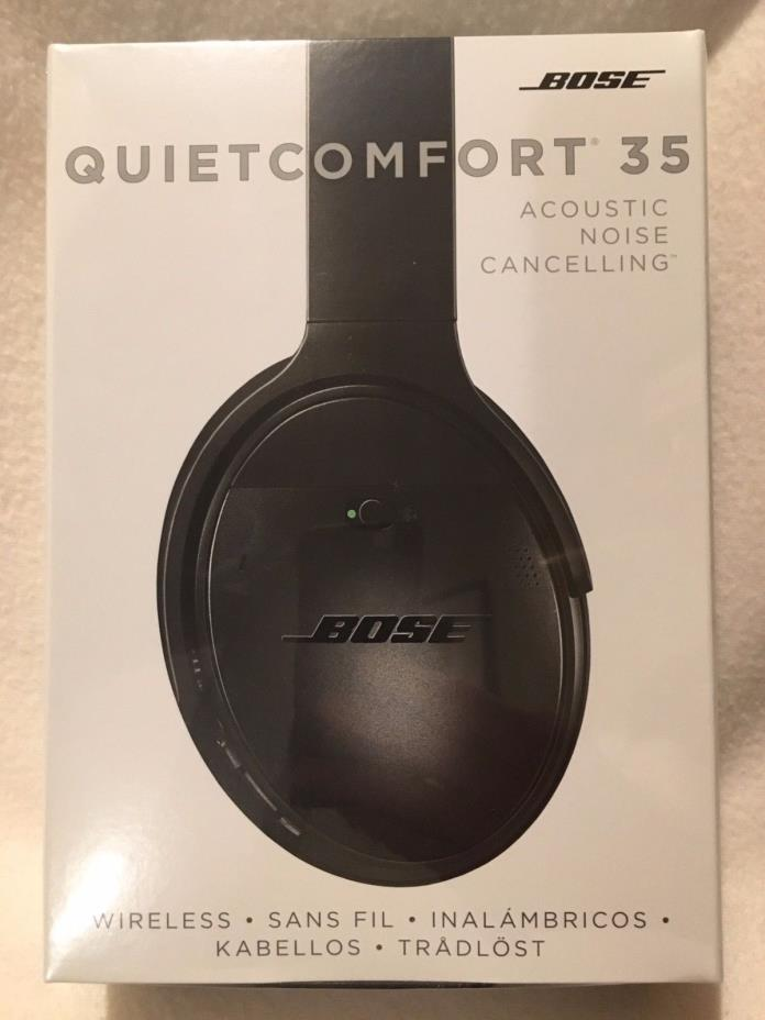 Bose QC35 QuietComfort 35 Wireless Headphones Noise Cancelling - NEW In the box!