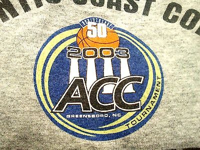 CoLector Item Sz XL - ACC 50th Anniversary (1953-2003) Basketball Championship T