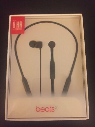 Brand New Sealed Authentic BeatsX Earphones Bluetooth - Black