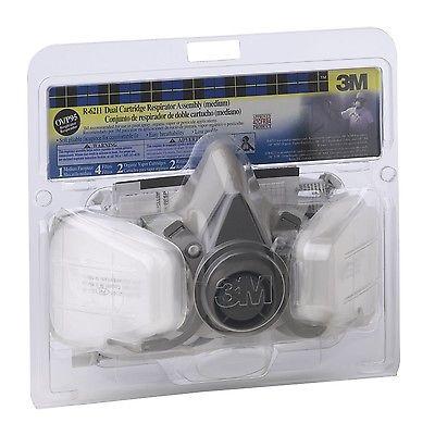 3M R6311 Respiratior Paint Spray Pesticide