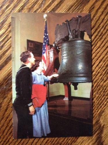 The Liberty Bell Postcard