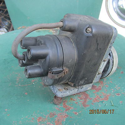 vintage - WICO - SERIES - C -  TRACTOR - STATIONARY ENGINE - 4 CYL  -  MAGNETO