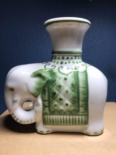 Ceramic Elephant Candle Holder With Sticker Andrea by Sedak