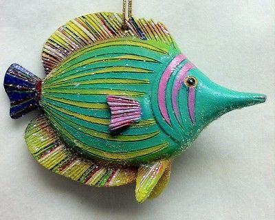 December Diamonds fish ornament 78-78117 4