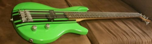 bass guitar, Hulk green