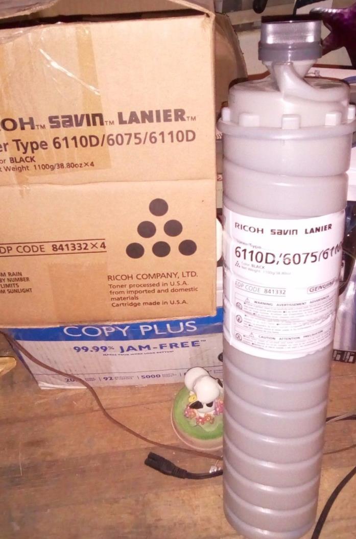 Genuine OEM RICOH SAVIN LANIER Toner Type 6110D / 6075 / 6110D EPD Code 841332