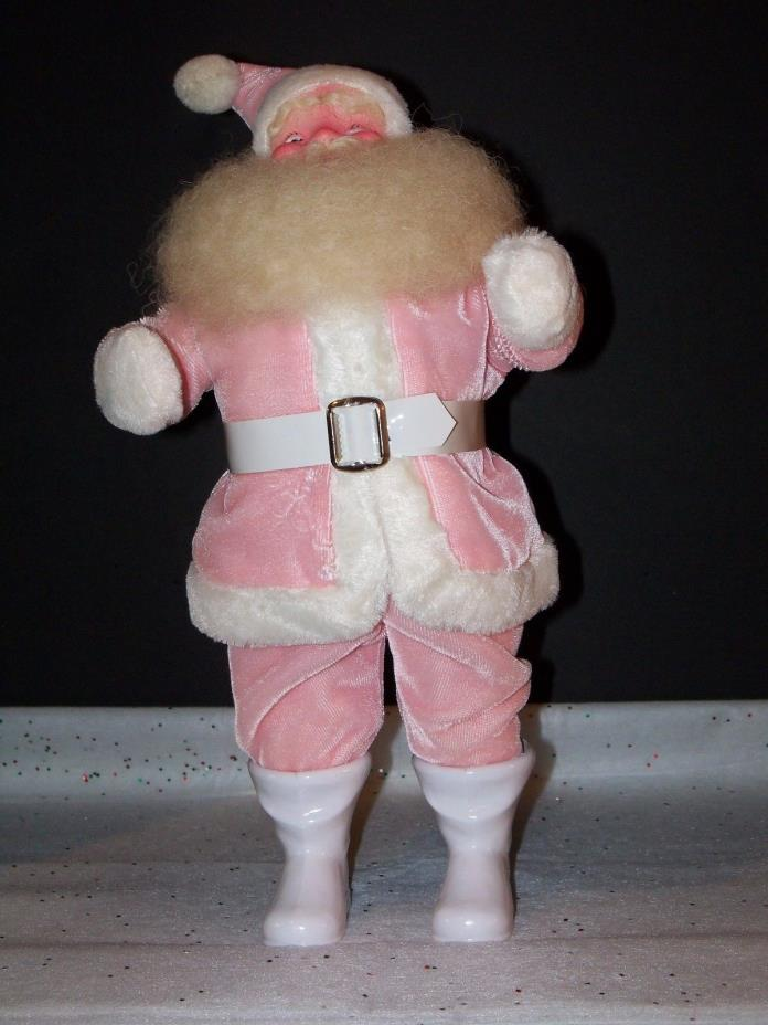 HAROLD GALE SANTA PINK VINTAGE DOLL STORE DISPLAY CHRISTMAS TREE ORNAMENT NEW!!!