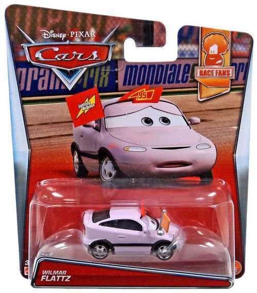 ++ Disney Pixar Cars - Wilmar Flattz - Mattel - 2017 Race Fans Series