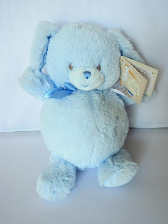 Kids Preferred Baby Blue Dog Plush Doll Stuffed Animal Toy Special Delivery New
