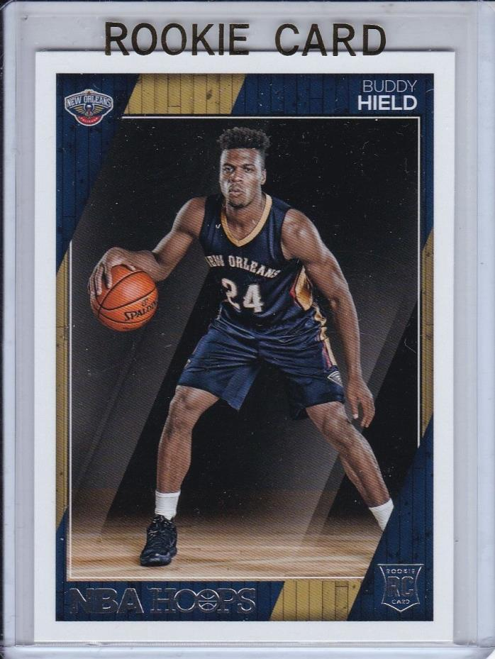 2016-17 PANINI NBA HOOPS BUDDY HIELD ROOKIE RC #266 OKLAHOMA KINGS BAHAMAS HOT