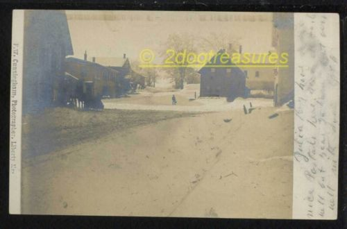Rppc Freedom Me Maine In Winter Horse Sleigh Binder And Mower Shop More