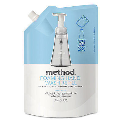 Method Foaming Hand Wash Refill Sweet Water 28 oz Pouch