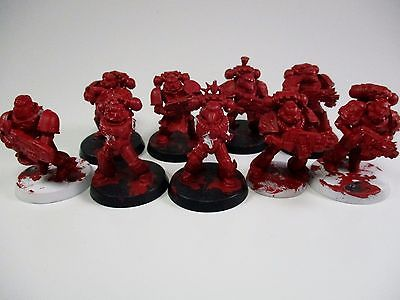 Warhammer 40k Space Marines X9 /3 are missing parts