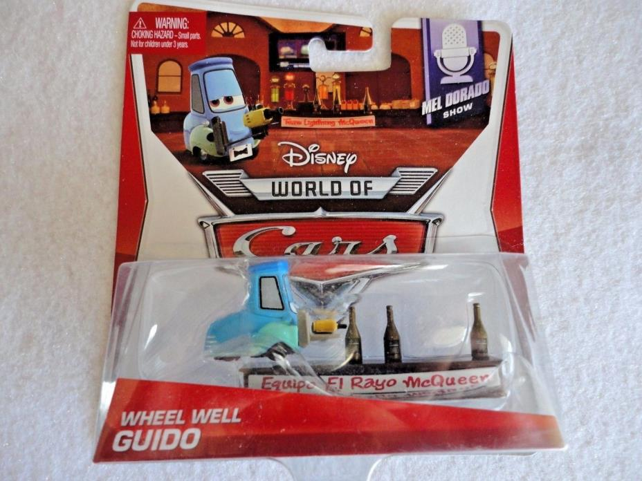Disney World Of Cars Diecast WHEEL WELL GUIDO NEW