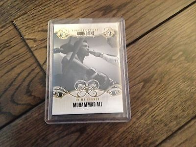 2010 Ringside Boxing Round 1 Muhammad Ali gold parallel #98 /9