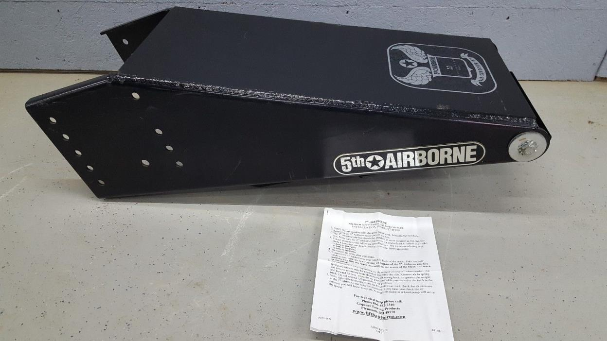 5th Airborne 5AB-E7920OE Fifth Wheel Air Ride Coupler Leland 7920 Pin Box Hitch