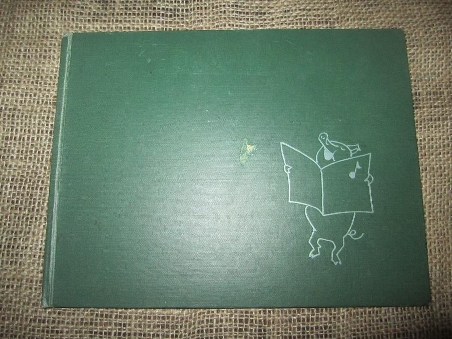 TALE OF A PIG by May Justus Vintage HARDCOVER Frank Aloise