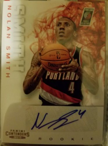 2012-13 Contenders Nolan Smith #269 RC Auto *Trailblazers