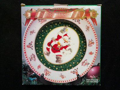 Westwood Giordano Art Ltd. - Collector Plate Christmas 1997