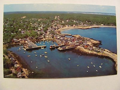 POSTCARD MASS ROCKPORT CAPE ANN