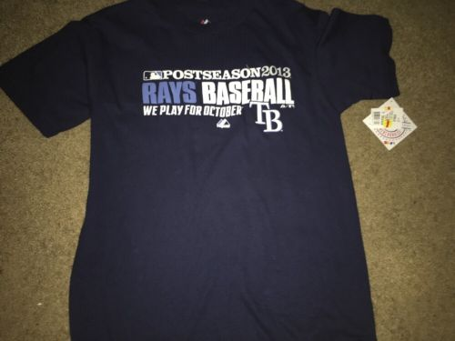 Tampa Bay Rays Boys Large T Shirt   New With Tags.