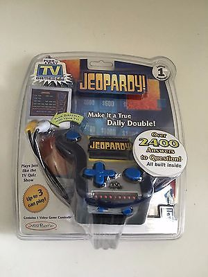 Jeopardy Plug and Play Electronic TV Game Brand New Sealed in Package